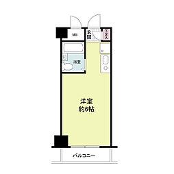 クレアーレ姫島[0504号室]の間取り