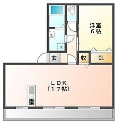 フューチャーハウス 15[1階]の間取り