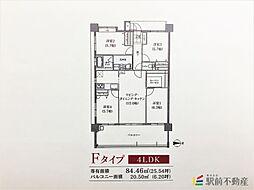 ネオス柳川城下の邸[407号室]の間取り