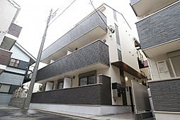東京都大田区大森西3丁目の賃貸アパートの外観