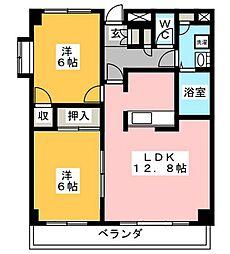 グランドエンブレム[2階]の間取り