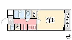 T-BLD神屋町[405号室]の間取り