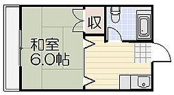 山栄ビル[3階]の間取り