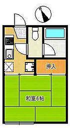 マロンハウス[1階]の間取り