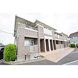 埼玉県川越市古谷上の賃貸アパートの外観