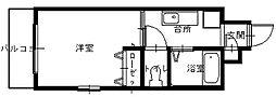 長崎県長崎市寄合町の賃貸マンションの間取り