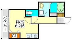 V-room1[301号室]の間取り