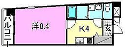 NERO II[603 号室号室]の間取り