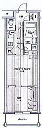 日神デュオステージ関内大通り公園[10階]の間取り