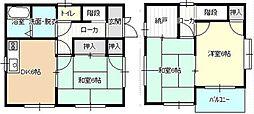 [一戸建] 広島県福山市能島3丁目 の賃貸【/】の間取り