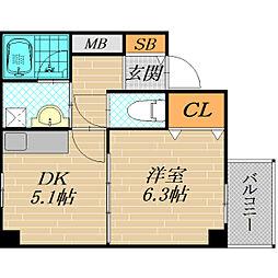 ARM21[2階]の間取り