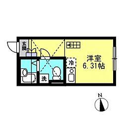 SJ House IV[101号室]の間取り
