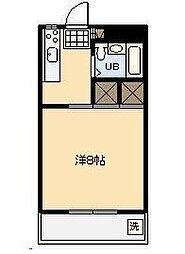 第3グリーンビル[305号室]の間取り