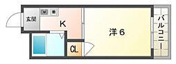 門真プラザ[3階]の間取り