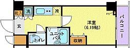 プロシード三田[1007号室]の間取り