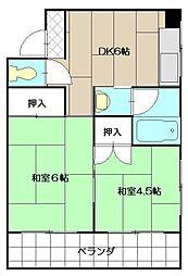 松宮ビル[303号室]の間取り