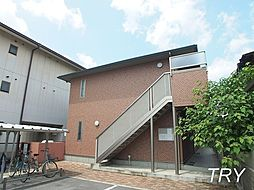 奈良県大和高田市神楽1丁目の賃貸アパートの外観