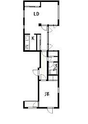 麻布新香ビル[3階]の間取り