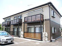 東京都昭島市福島町2丁目の賃貸アパートの外観