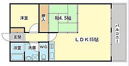 辰田ビル[2階]の間取り