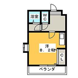 ソフィア[6階]の間取り