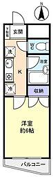 コンフォート八千代台[5階]の間取り