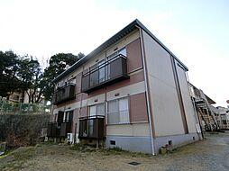 田村ハイツ2[1階]の外観