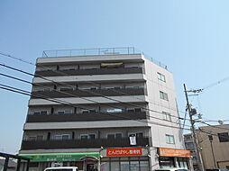 大阪府富田林市若松町1丁目の賃貸アパートの外観