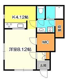 [テラスハウス] 東京都国立市北2丁目 の賃貸【東京都 / 国立市】の間取り