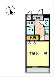 彩城(I)[2階]の間取り