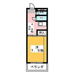 シャンパーニュ[2階]の間取り
