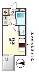 ドール栄5丁目[4階]の間取り