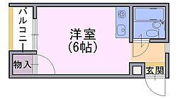 ベルメゾンナカムラ[2階]の間取り
