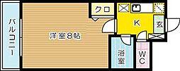 ベルメゾン大塚[305号室]の間取り