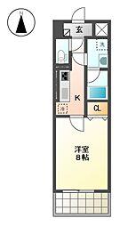 グランメゾン黒川[2階]の間取り