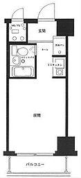 神奈川県横浜市中区寿町2丁目の賃貸マンションの間取り