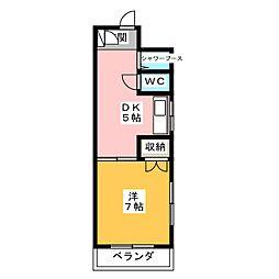 TOMOビル[4階]の間取り