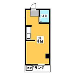 ウェザーフィールド[3階]の間取り