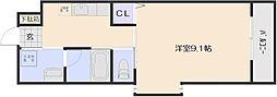KTビル[3階]の間取り