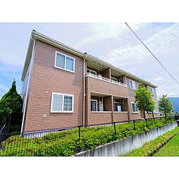 長野県大町市大町の賃貸アパートの外観