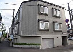 北海道札幌市東区北二十一条東17丁目の賃貸アパートの外観