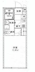 アムール山茶花[1階]の間取り