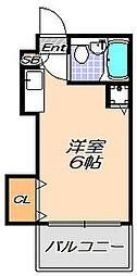 兵庫県神戸市灘区大石東町3丁目の賃貸マンションの間取り