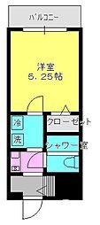 ライオンズマンション相模原第7[11階]の間取り