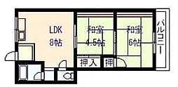 カサ・グレープ[2階]の間取り