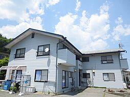 長野県飯田市山本の賃貸アパートの外観