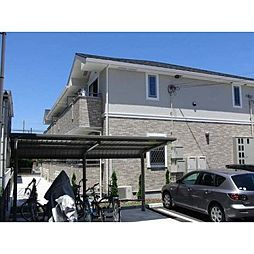 愛知県北名古屋市徳重小崎の賃貸アパートの外観