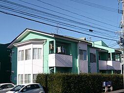 上所グリーンタウンF棟[202号室]の外観