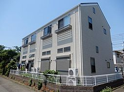 東京都立川市羽衣町1丁目の賃貸アパートの外観