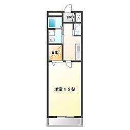 マサモトマンション5[306号室]の間取り